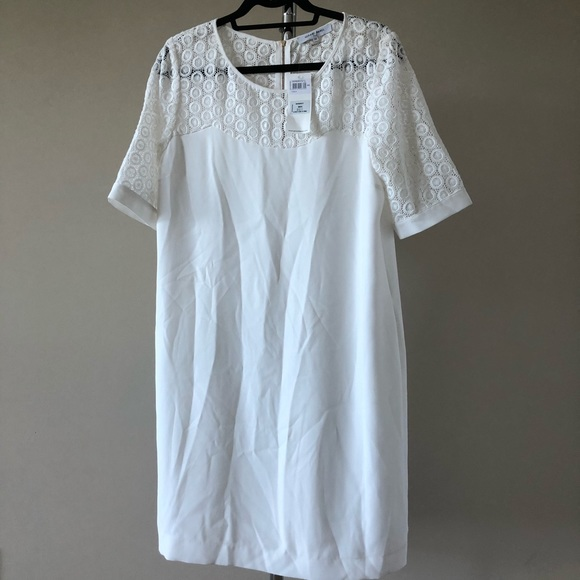 c91607c1cd4e5 Gerard Darel white Tonca dress